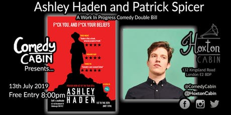 Comedy Cabin Presents: Ashley Haden and Patrick Spicer tickets
