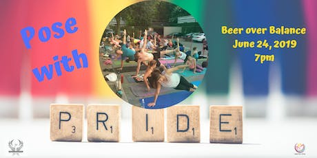 Pose with PRIDE YOGA - Beer Over Balance tickets