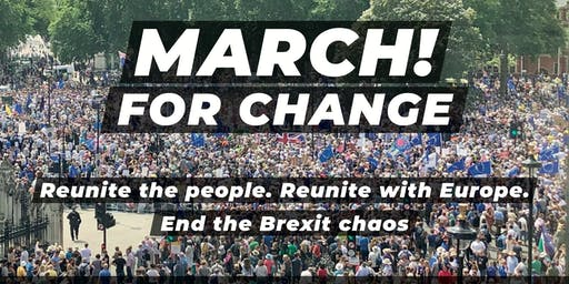 March for Change in London, 20 July 2019 - Coaches from Bath