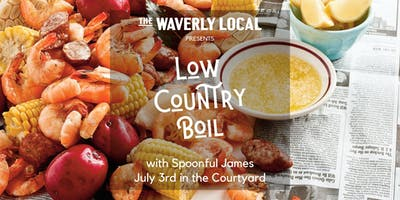 Low Country Boil- courtyard