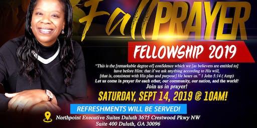 Fall Prayer Fellowship