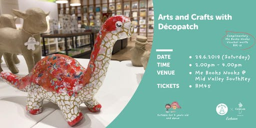 Arts & Crafts with Décopatch @ MidValley SouthKey