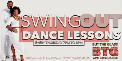 Swing Out Dance Lessons & Wine   NW Houston