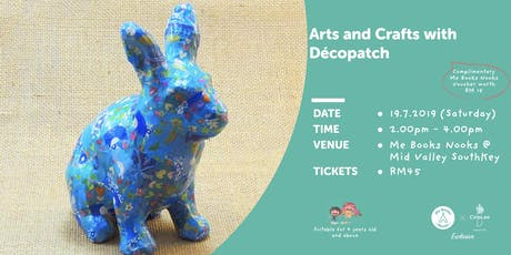 Arts & Crafts with Décopatch@MidValley SouthKey tickets