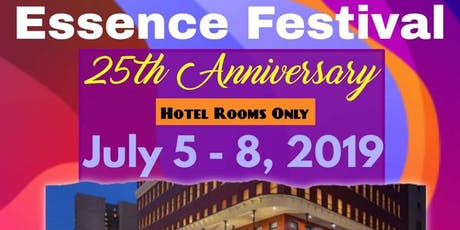 Essence Festival Hotel Rooms Only! tickets