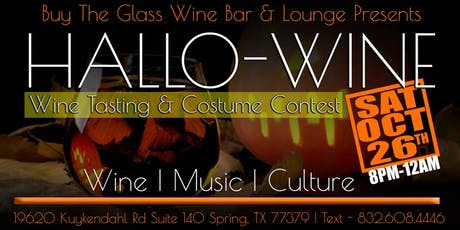 4th Annual Hallo-Wine Costume Party & Wine Tasting Event tickets