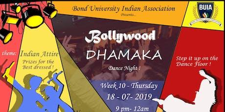 Bollywood Dhamaka tickets