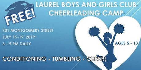 LBGC Summer Cheer Camp tickets