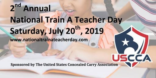 National Train A Teacher Day - Indian River County - USCCA CCHD