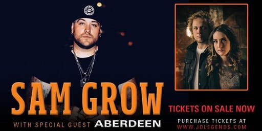 Sam Grow with Aberdeen