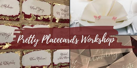 Pretty Place Cards DIY tickets