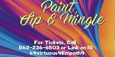 Paint & Sip/Mingle