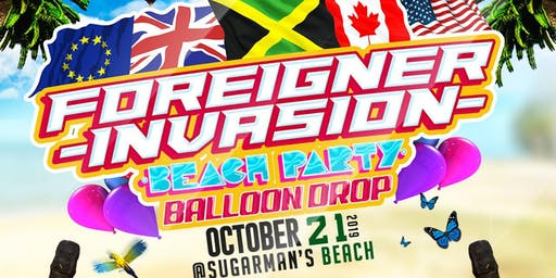 Foreigner Invasion Beach Party