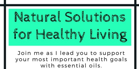 Natural Solutions for Healthy Living tickets