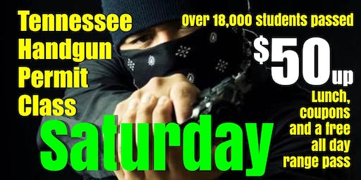 Saturday July-Aug-Sept HANDGUN PERMIT CLASS $50up w/Pizza & Free Range Pass