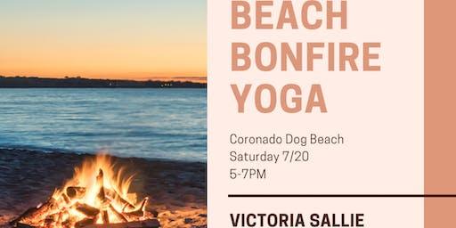 Beach Bonfire Yoga