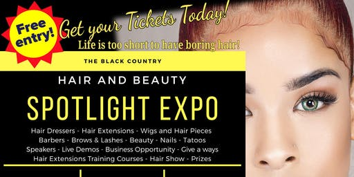 Free Hair and Beauty Black Country Exhibition at Village hotel in Dudley