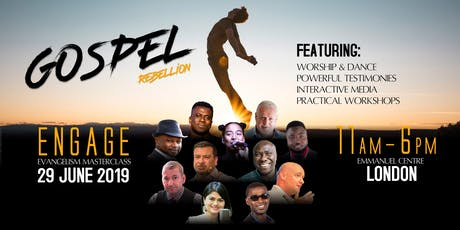 Engage 2019 - GOSPEL REBELLION tickets