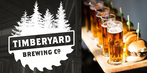 Flights & Bites at Timberyard Brewing
