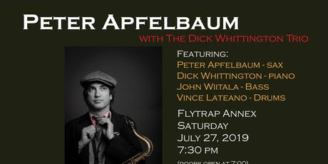 Peter Apfelbaum with the Dick Whittington Trio tickets