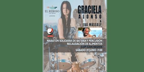 Maratón Solidario de Batería y Percusión con Graciela Alonso e Iba Massaly entradas
