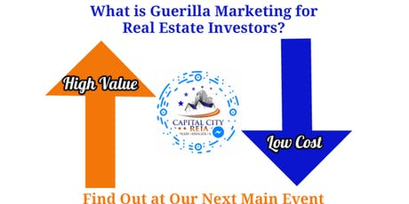 Guerrilla Marketing Strategies for Real Estate Investors: 10X your Leads tickets