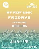 Afrofunk Fridays featuring Modrums
