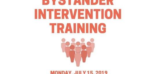 Bystander Intervention Training