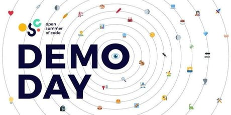Open Summer of Code 2019 (#oSoc19): Demo Day entradas