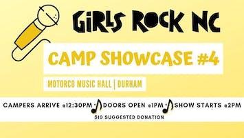 Girls Rock NC Summer Camp #4 Showcase