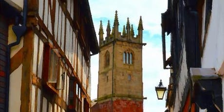 A Tour of the Medieval Heart of Shrewsbury by Historian and Guide John Brown tickets