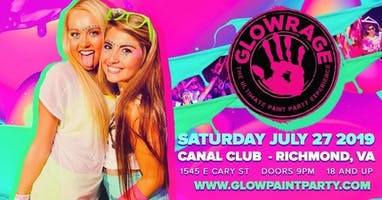 Glow Rage Paint Party