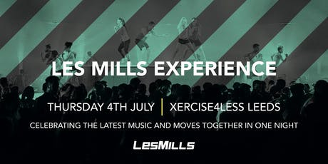 Les Mills Experience tickets