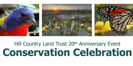 Conservation Celebration: A Hill Country Land Trust 20th Anniversary Event