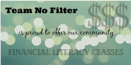Team No Filter Financial Literacy Classes tickets