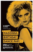 Madonna Birthday Dance Party