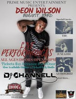 Deon Wilson w/ THC, 2une Godi, AztroGrizz, DJ Channell, and more TBA