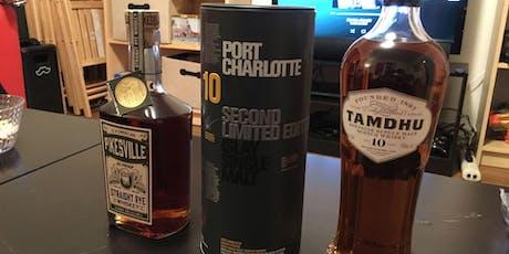 Tasting Whiskeys From Around The World [Inner Sunset] tickets