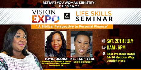 ReStart You Woman Ministry  Presents Vision Expo & Life Skills Seminar tickets