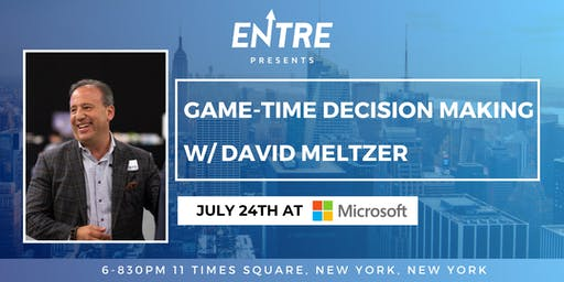 Game-Time Decision Making with David Meltzer