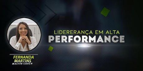 Palestra: Liderança em Alta Performance , em  31 de julho ingressos
