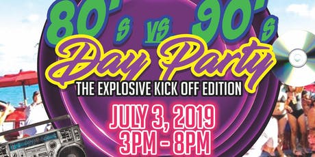 Essence of the Culture: 80's vs 90's DayParty tickets