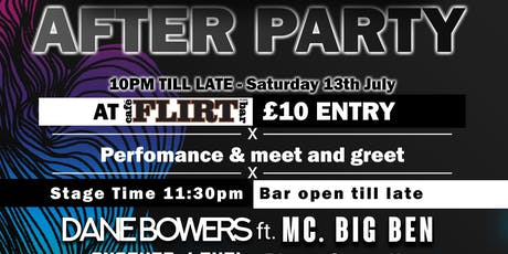 Bourne Free After Party - Ft Dane Bowers & DJ Big Ben Ofoedu  tickets