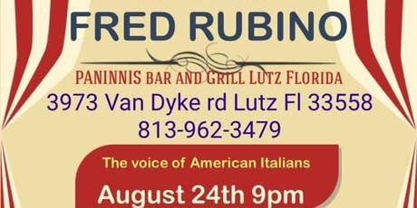Night Of Comedy Featuring Fred Rubino tickets