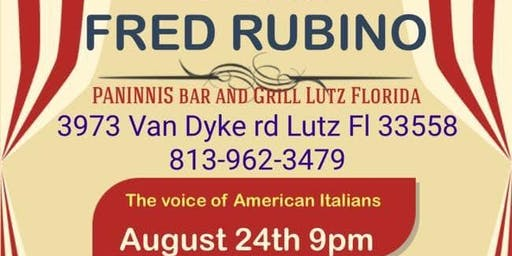 Night Of Comedy Featuring Fred Rubino