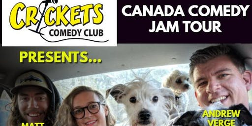 Canada Comedy Jam at Big John's!