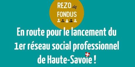 Un réseau social professionnel made in Haute-Savoie : retour au local ! tickets