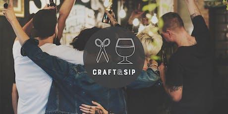 Craft & Sip at Barchen tickets