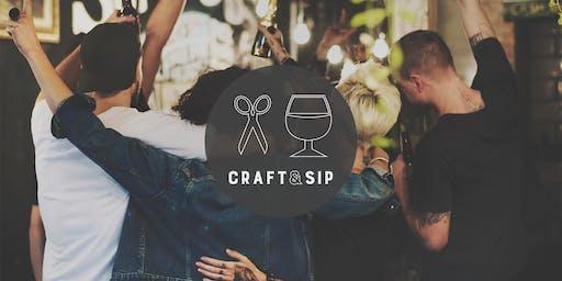Craft & Sip DIY Event