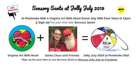 Sensory Santa for Jolly July 2019 tickets